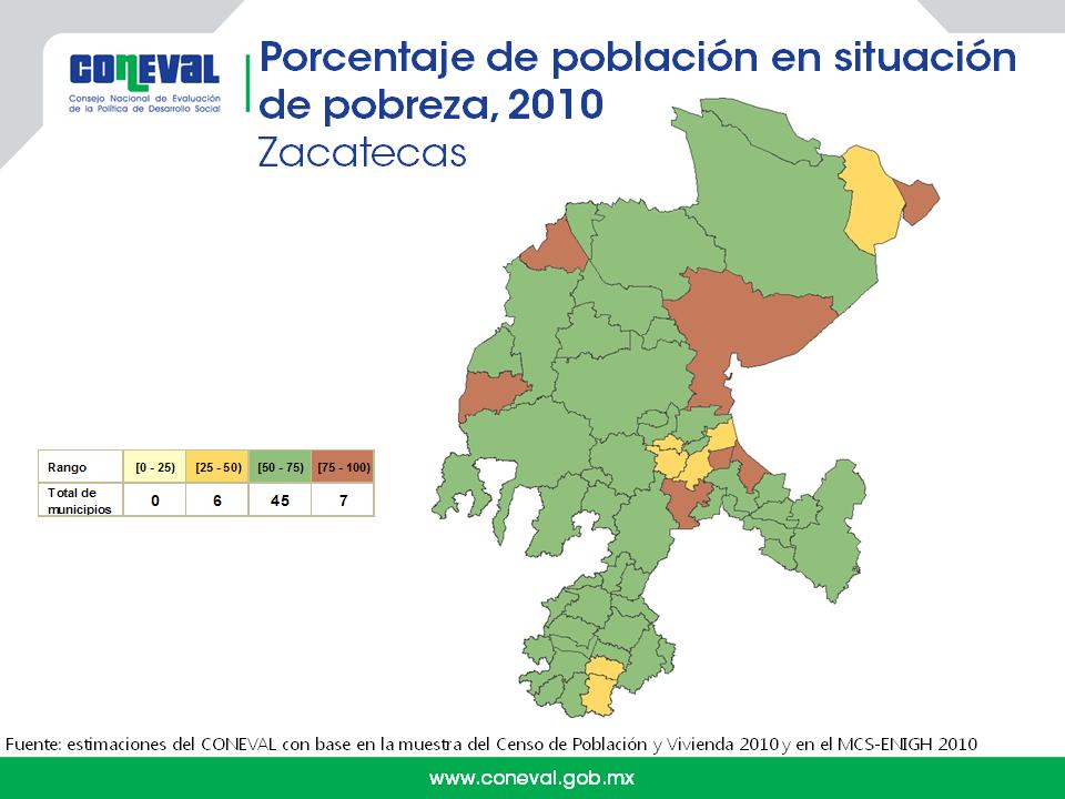 Pobreza municipal for En zacatecas hay playa
